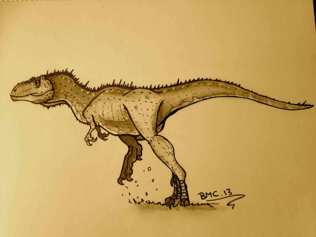 Alectrosaurus redux by daddyconnolly