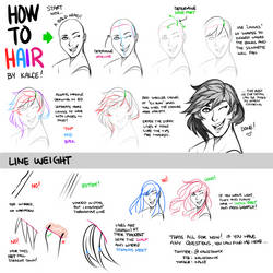 Hair tutorial by Kalcedonyx
