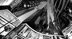 Busy City by alantsuei