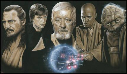 Jedi by caldwellart