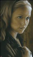 Portrait study in sepia. by caldwellart
