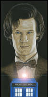 Matt Smith by caldwellart