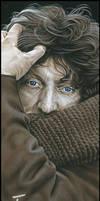 Tom Baker Signed Artwork by caldwellart