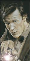 Matt Smith - The 11th Doctor by caldwellart