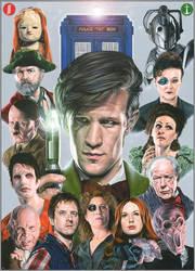 Doctor Who - Series 6 by caldwellart
