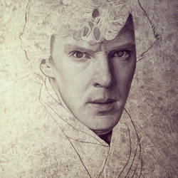 Sherlock work in progress by caldwellart