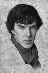 Sherlock by caldwellart