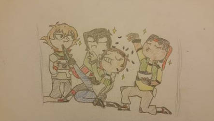 Voltron Draw the Squad by TeamVOLTRON111