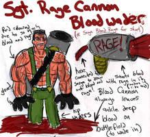 Sgt RageCannon Bloodwader Ref by SpiderPope