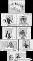 Ebon Spire: Sagittarius Page 1 by SpiderPope