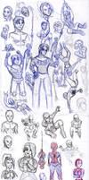SketchDump by SpiderPope