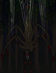 Stalking Her Prey by SpiderPope