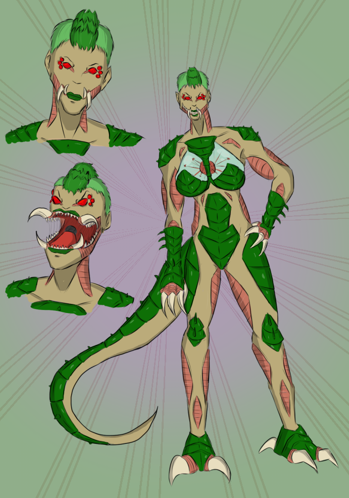 Zomega Metroid by SpiderPope