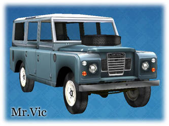 Land Rover 109 Safari by Victorixxx