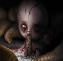 Maggot-boy by D4rkharlequin