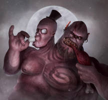 Sir Ogre by D4rkharlequin