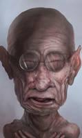 Old man by D4rkharlequin