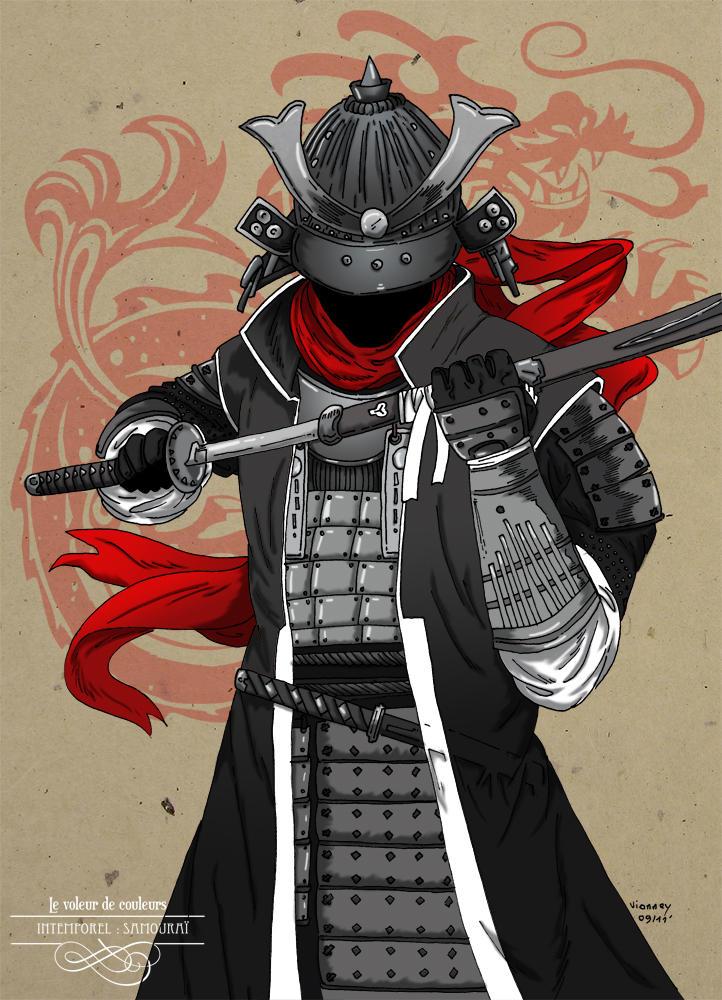 Le voleur de couleur samourai by arthelius