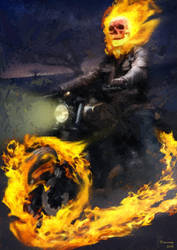 Ghost Rider by arthelius