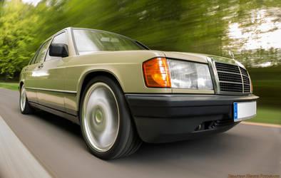 Mercedes E190 by Tyler-Durden86