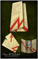Grunge brochure by Freelancerdesigner