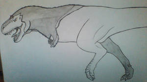 Tyrannosaurus Rex by Evodolka