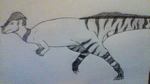 Pachycephalosaurus Wyomingensis by Evodolka