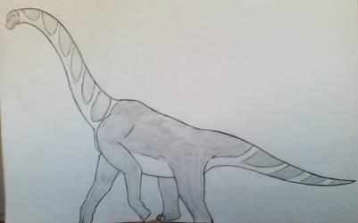 Giraffatitan Brancai by Evodolka