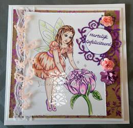 Peony Fairy by SabrinaStamps