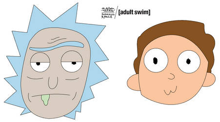 Rick And Morty by Yarkov