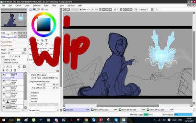 Vegeta's Future (wip) by ghostmonument