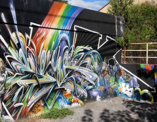 rainbowarrior by psktear