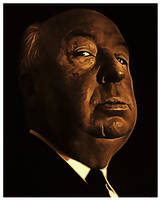 Alfred Hitchcock 2 by PsycoJimi
