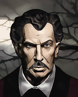 Vincent Price by PsycoJimi