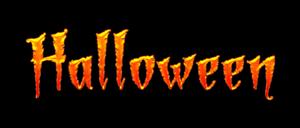 Free Halloween word art by PsycoJimi