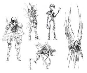 Children of Thanatos 2 by Monopteryx