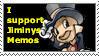 I support Jiminys Memos by PumpkinCoocie