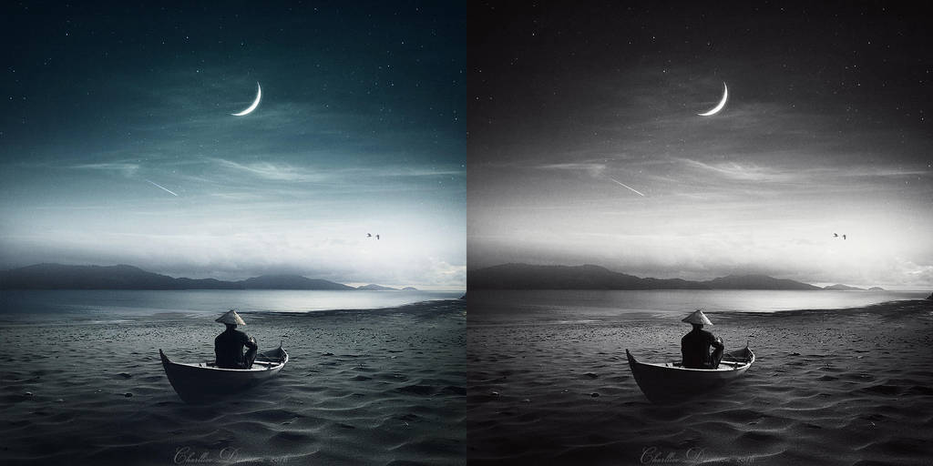 Lonely night by CharllieeArts
