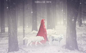 Protector of wolves by CharllieeArts