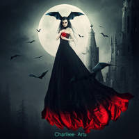 Give me your love,Dracula! by CharllieeArts