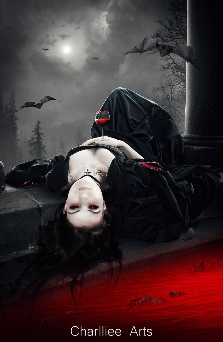 Carmilla, the insatiable vampire! by CharllieeArts