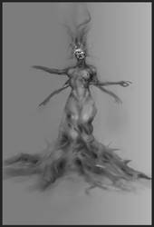 Queen Of Pain WIP by eWKn
