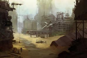 Rusty future by eWKn