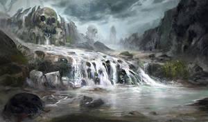 Skull valley by eWKn