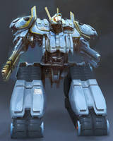Japanese Mecha Prototype by eWKn