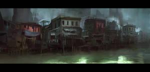 Water Village by eWKn