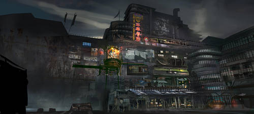 Cargo District by eWKn