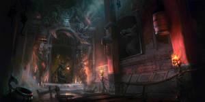 Mogwai Temple by eWKn