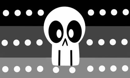 Deathgender pride flag by Sanslet0n