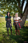 Look at us, Geralt!! by x-Alexiel-x